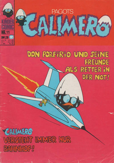 Cover for Calimero (BSV - Williams, 1973 series) #11