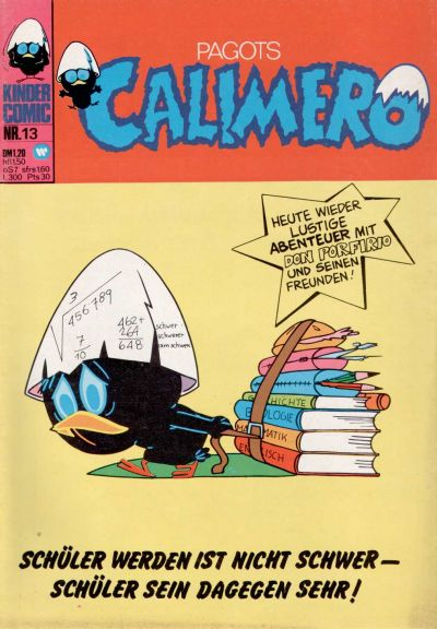 Cover for Calimero (1973 series) #13