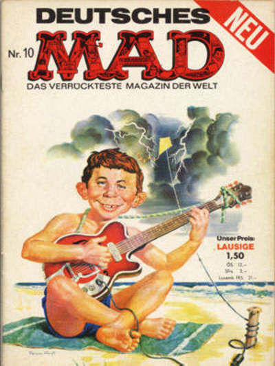 Cover for Mad (1967 series) #10