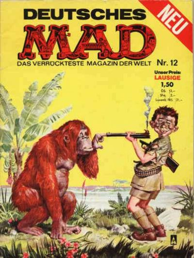 Cover for Mad (BSV - Williams, 1967 series) #12