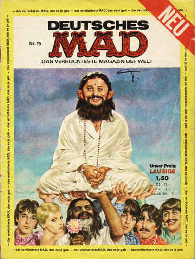 Cover for Mad (1967 series) #15