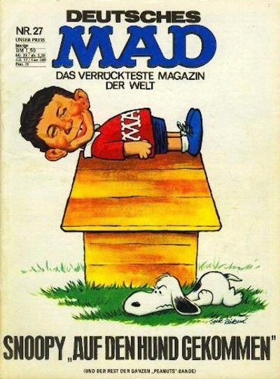 Cover for Mad (BSV - Williams, 1967 series) #27