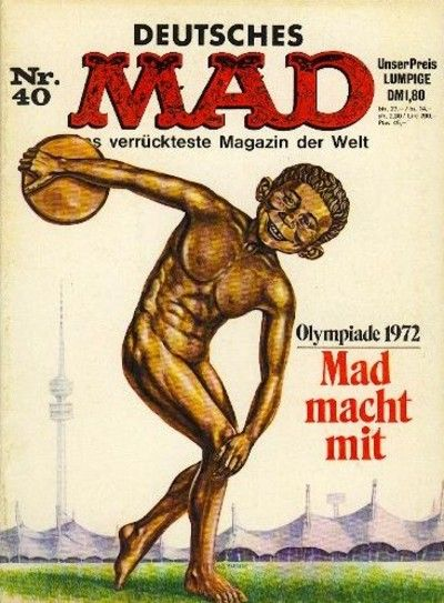 Cover for Mad (BSV - Williams, 1967 series) #40