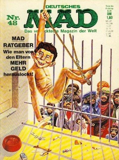 Cover for Mad (BSV - Williams, 1967 series) #48