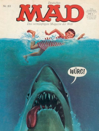Cover for Mad (BSV - Williams, 1967 series) #83