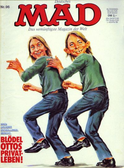 Cover for Mad (BSV - Williams, 1967 series) #96