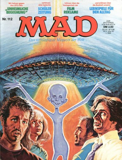 Cover for Mad (BSV - Williams, 1967 series) #112