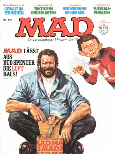 Cover for Mad (BSV - Williams, 1967 series) #121