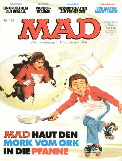 Cover for Mad (1967 series) #127