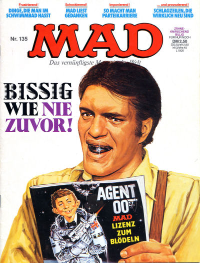 Cover for Mad (BSV - Williams, 1967 series) #135