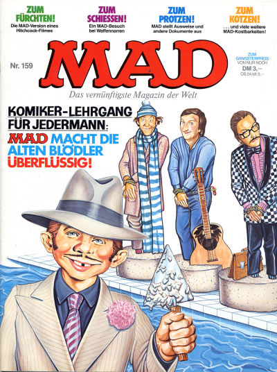 Cover for Mad (BSV - Williams, 1967 series) #159