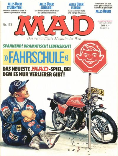 Cover for Mad (BSV - Williams, 1967 series) #173