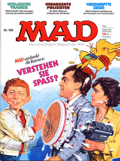 Cover for Mad (BSV - Williams, 1967 series) #198