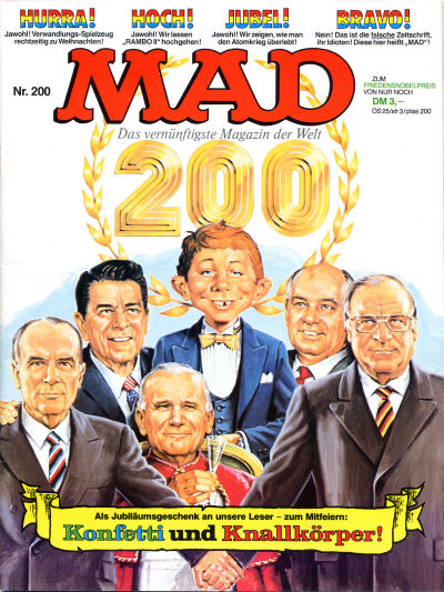 Cover for Mad (BSV - Williams, 1967 series) #200