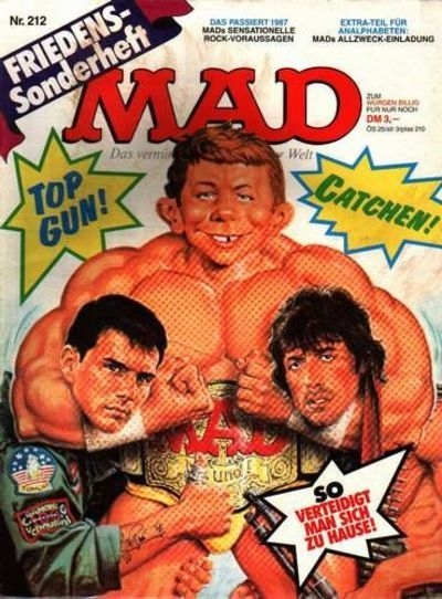 Cover for Mad (BSV - Williams, 1967 series) #212