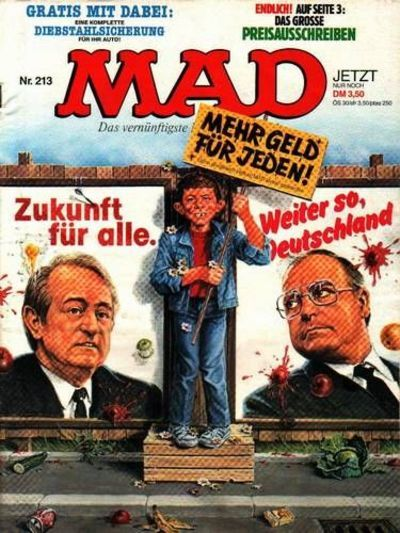 Cover for Mad (BSV - Williams, 1967 series) #213