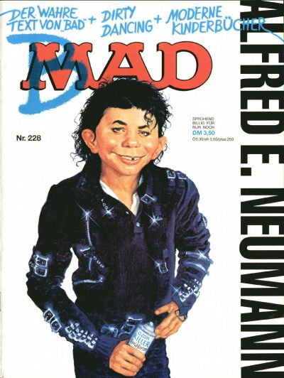 Cover for Mad (BSV - Williams, 1967 series) #228