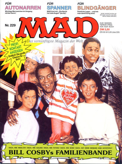 Cover for Mad (BSV - Williams, 1967 series) #229