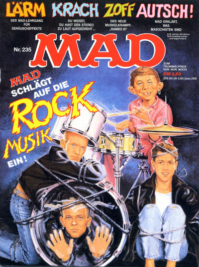 Cover for Mad (BSV - Williams, 1967 series) #235