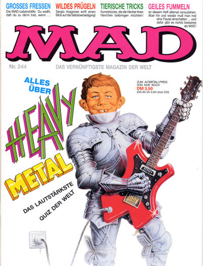 Cover for Mad (BSV - Williams, 1967 series) #244