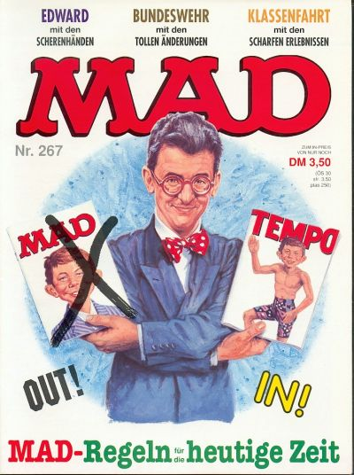 Cover for Mad (BSV - Williams, 1967 series) #267