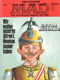 Cover Thumbnail for MAX Extra-Ausgabe (BSV - Williams, 1971 series) #1