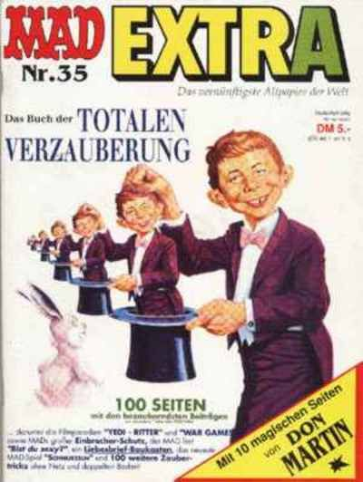Cover for Mad Extra (BSV - Williams, 1975 series) #35