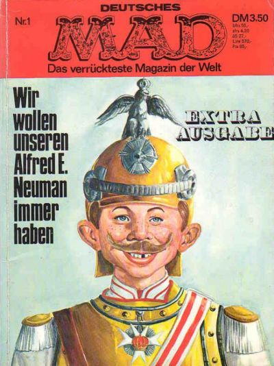 Cover for MAX Extra-Ausgabe (BSV - Williams, 1971 series) #1