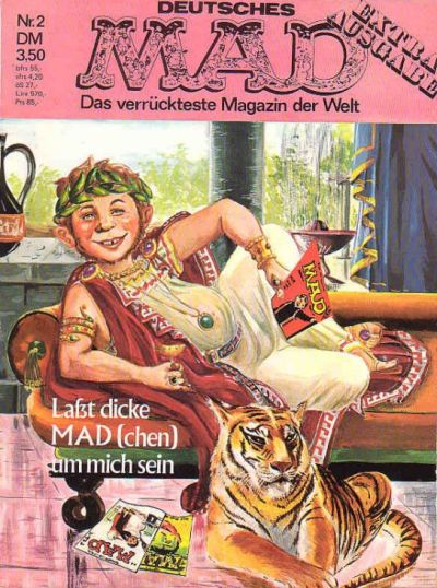 Cover for MAX Extra-Ausgabe (BSV - Williams, 1971 series) #2