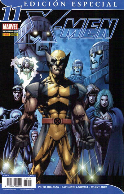 Cover for X-Men (Panini España, 2006 series) #11