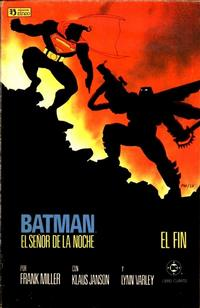 Cover Thumbnail for Batman: El Señor de la Noche (Zinco, 1987 series) #4