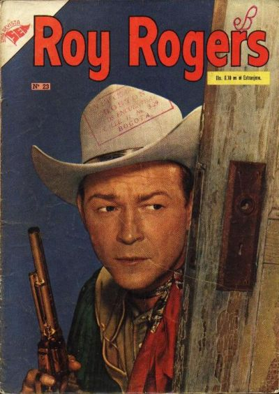 Cover for Roy Rogers (Editorial Novaro, 1952 series) #23