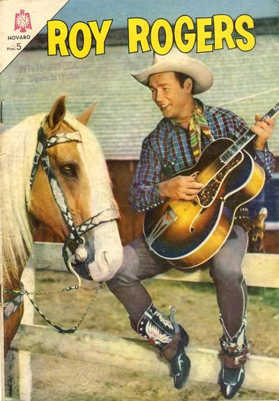 Cover for Roy Rogers (Editorial Novaro, 1952 series) #148