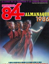 Cover Thumbnail for Zona 84 Almanaque (Toutain Editor, 1985 series) #1986