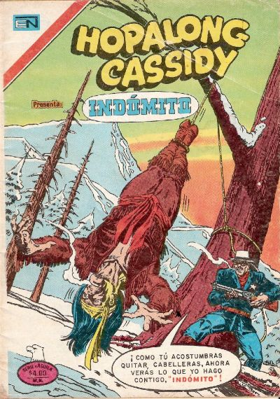 Cover for Hopalong Cassidy (Editorial Novaro, 1952 series) #296