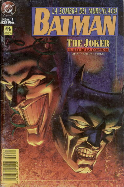 Cover for Batman: La sombra del murciélago (Zinco, 1996 series) #1