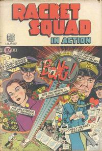 Cover Thumbnail for Racket Squad in Action (Charlton, 1952 series) #2