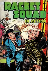 Cover Thumbnail for Racket Squad in Action (Charlton, 1952 series) #7