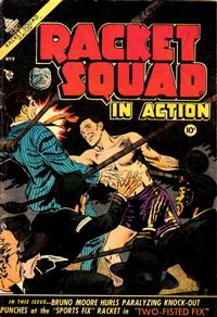 Cover Thumbnail for Racket Squad in Action (Charlton, 1952 series) #9