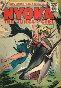 Cover Thumbnail for Nyoka the Jungle Girl (Charlton, 1955 series) #15