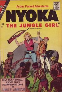Cover Thumbnail for Nyoka the Jungle Girl (Charlton, 1955 series) #20