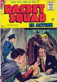 Cover Thumbnail for Racket Squad in Action (Charlton, 1952 series) #23