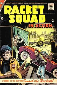 Cover Thumbnail for Racket Squad in Action (Charlton, 1952 series) #27