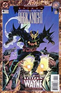Cover Thumbnail for Batman: Legends of the Dark Knight Annual (DC, 1993 series) #4 [Direct Sales]