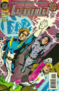 Cover Thumbnail for Legion of Super-Heroes (DC, 1989 series) #0