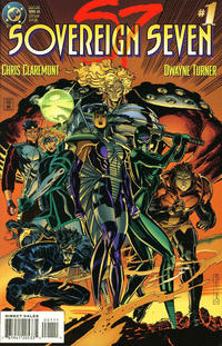 Cover Thumbnail for Sovereign Seven (DC, 1995 series) #1 [Direct Edition]