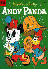 Cover Thumbnail for Walter Lantz Andy Panda (Dell, 1952 series) #27