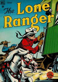 Cover Thumbnail for The Lone Ranger (Dell, 1948 series) #8