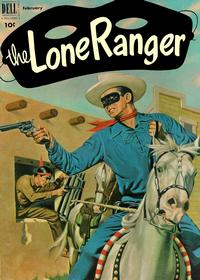 Cover Thumbnail for The Lone Ranger (Dell, 1948 series) #44