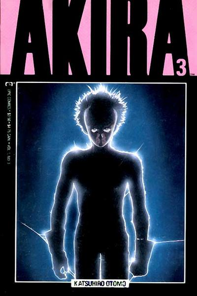 Cover for Akira (Marvel, 1988 series) #3